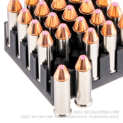 250 Rounds of .38 Spl Ammo by Hornady Critical Defense - 90gr FTX