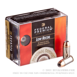 20 Rounds of .40 S&W Ammo by Federal Hydra-Shok  - 135gr JHP
