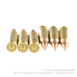 500 Rounds of 5.56x45 Ammo by Hornady Frontier - 75gr HPBT Match