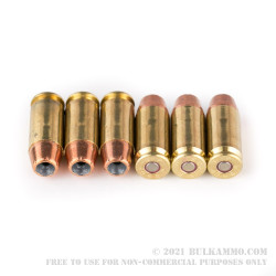 50 Rounds of .40 S&W Ammo by Remington HTP - 155gr JHP