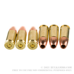 20 Rounds of 9mm Ammo by Barnes VOR-TX - 115gr XPB