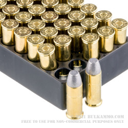 50 Rounds of .44 S&W Spl Ammo by Magtech - 240gr LFN