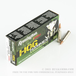20 Rounds of .223 Ammo by Remington - 62gr TSX