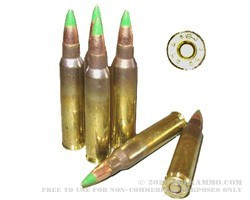 1000 Rounds of 5.56x45 XM855 Green Tip Ammo by Lake City in Used Ammo Can - 62gr FMJ