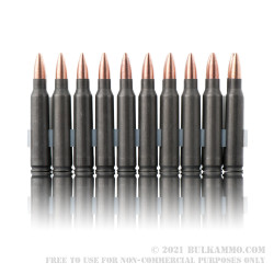 500  Rounds of .223 Ammo by Tula - 55gr FMJ