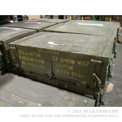 1260 Rounds of 7.62x39mm Ammo by Military Surplus - 123gr FMJ