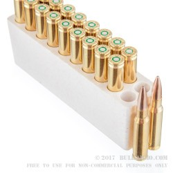 20 Rounds of .308 Win Ammo by Black Hills Match Ammunition - 175gr HPBT