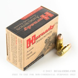 200 Rounds of .357 SIG Ammo by Hornady - 147gr JHP