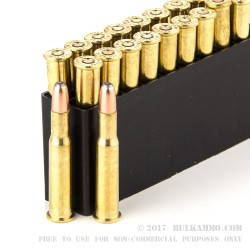 20 Rounds of 30-30 Win Ammo by Hornady Custom Lite - 150gr RN