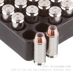 20 Rounds of 10mm Ammo by Corbon - 165gr JHP