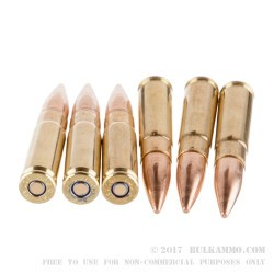 20 Rounds of .300 AAC Blackout Ammo by Sellier & Bellot - 200gr FMJ