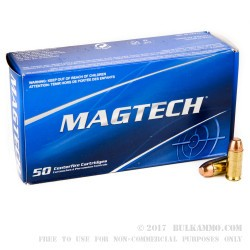 50 Rounds of .40 S&W Ammo by Magtech - 165gr FMJ