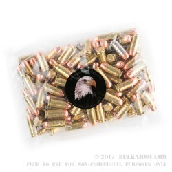 1000 Rounds of .40 S&W Ammo by MBI - 180gr FMJ