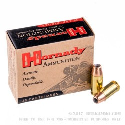 200 Rounds of .45 ACP Ammo by Hornady - 230gr JHP