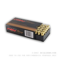 50 Rounds of 10mm Ammo by PMC - 170gr JHP