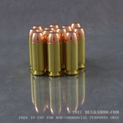 100 Rounds of 10mm Ammo by MBI - New - 180gr FMJ