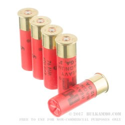 "10 Rounds of 12ga 3"" Turkey Ammo by Hornady - 1 1/2 ounce #5 heavy magnum shot"