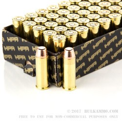 50 Rounds of .45 Long-Colt Ammo by HPR - 250gr TMJ