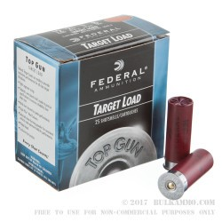 25 Rounds of 12ga Ammo by Federal - 1 ounce #8 shot