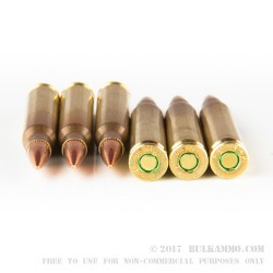 1200 Rounds of 5.56x45 SS109 Ammo by ZQI - 62gr FMJ