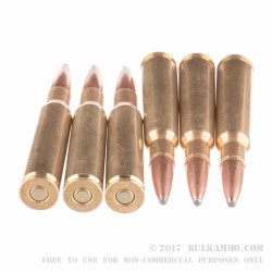 20 Rounds of 7x57mm Mauser Ammo by Remington - 140gr PSP