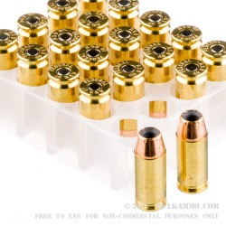 20 Rounds of .40 S&W Ammo by Federal Personal Defense - 180gr JHP