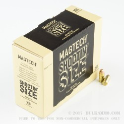 250 Rounds of .45 ACP Ammo by Magtech Shootin' Size - 230gr FMJ