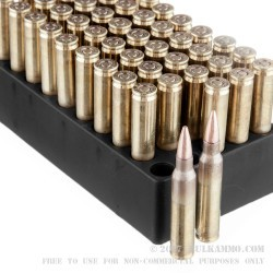 50 Rounds of 5.56 Ammo by Black Hills Ammunition - 62gr Barnes TSX