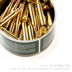 50 Rounds of .223 Canned Heat Ammo by Fiocchi - 55gr FMJBT