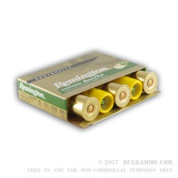 5 Rounds of 20ga Ammo by Remington - 260gr AccuTip Sabot Slug