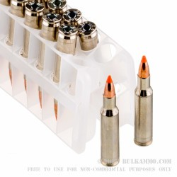 20 Rounds of .222 Rem Ammo by Federal - 40gr Nosler Ballistic Tip