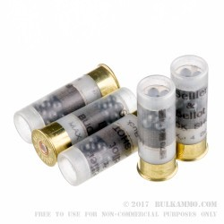 250 Rounds of 12ga Ammo by Sellier & Bellot -  #4 Buck