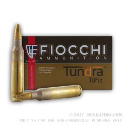 20 Rounds of .223 Ammo by Fiocchi Tundra - 50gr FMJ
