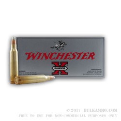 200 Rounds of .223 Ammo by Winchester - 55gr FSP