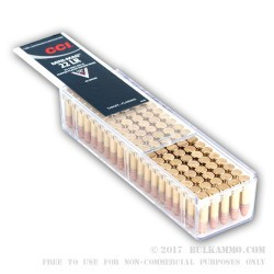 1600 Rounds of .22 LR Ammo by CCI - 40gr CPRN in Reusable Case