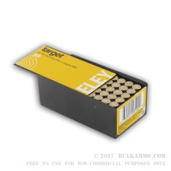 50 Rounds of .22 LR Ammo by Eley - 40gr LRN