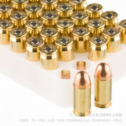 50 Rounds of .45 ACP Ammo by Federal Gold Medal Match- 230gr FMJ