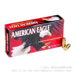 1000 Rounds of .40 S&W Ammo by Federal - 165gr FMJ