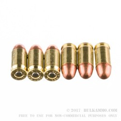 500 Rounds of .380 ACP Ammo by Remington UMC- 95gr MC