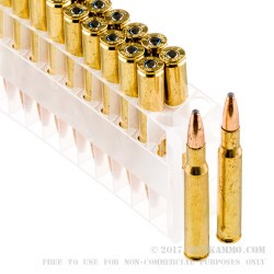 200 Rounds of 30-06 Springfield Ammo by Federal - 150gr SP