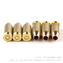 20 Rounds of .40 S&W Ammo by PMC - 180gr JHP