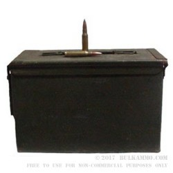 600 Rounds of .308 Win Ammo by Argentine Surplus - 147gr FMJ