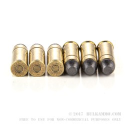 50 Rounds of .45 Long-Colt Ammo by Magtech - 200gr LFN
