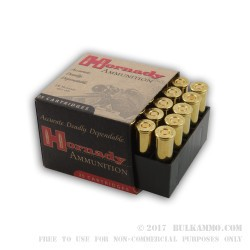 25 Rounds of .357 Mag Ammo by Hornady - 140gr JHP