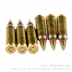 150 Rounds of 5.56x45 Ammo by Federal - 62gr FMJ