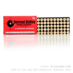1000 Rounds of .38 Spl Ammo by BVAC - 125gr JHP