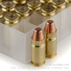 50 Rounds of .357 SIG Ammo by Fiocchi - 124gr FMJTC