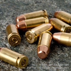 100 Rounds of .40 S&W Ammo by MBI - 165gr FMJ