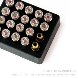 20 Rounds of 9mm Ammo by Remington - 124gr JHP