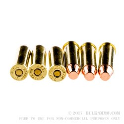 50 Rounds of .357 Mag Ammo by Fiocchi - 158gr CMJ